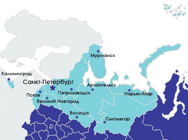 Особенности фармацевтического рынка труда в регионах: СЗФО